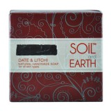 Date & Litchi natural handmade soap