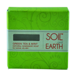Green Tea & Mint natural handmade soap