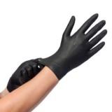 Comforties Soft Nitril Premium onderzoekshandschoenen zwart